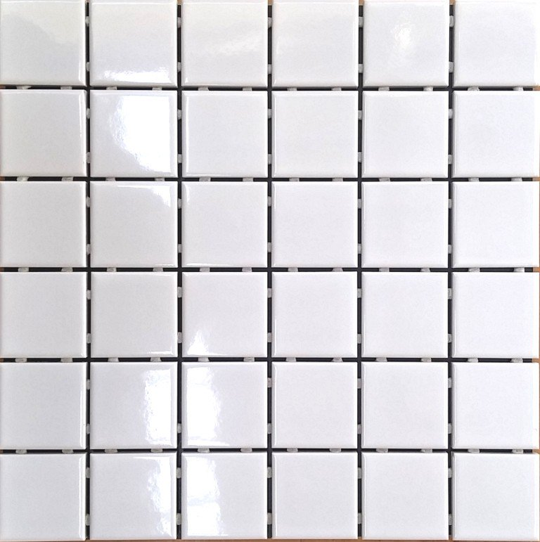CITY 4.8X4.8 WHITE GLOSS 30.6X30.6 SHEET