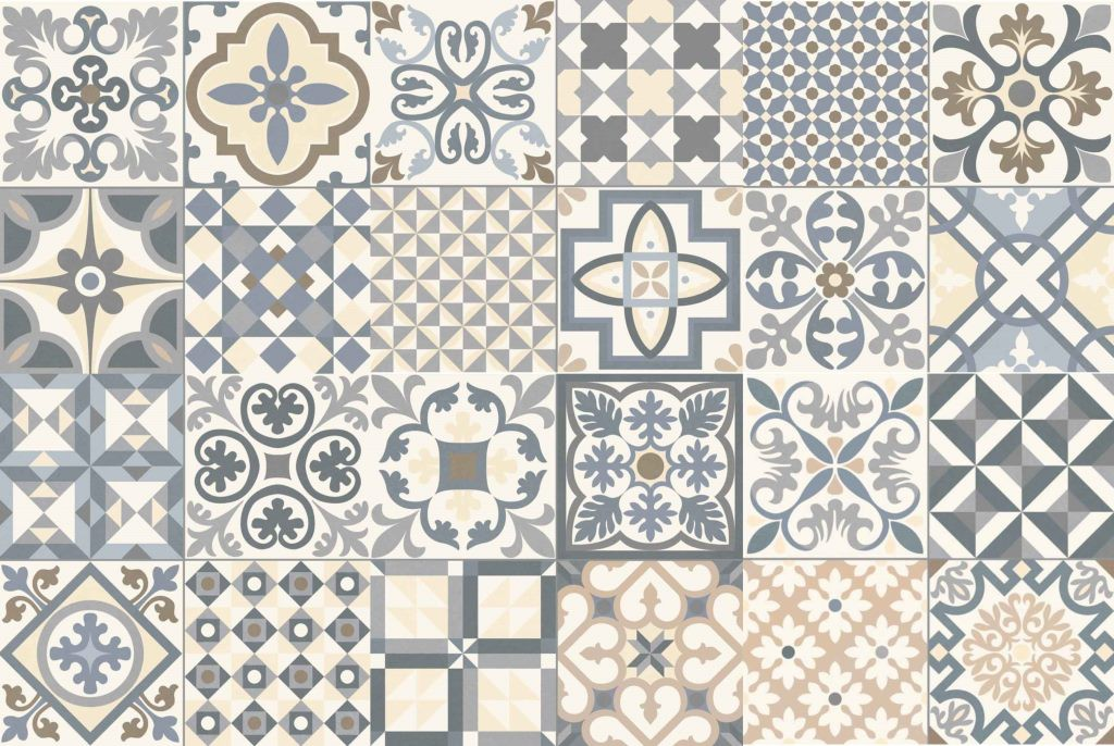 HERITAGE BLUE/GREY 33X33 - SQM - Floor Tiles - Tiles - Our Products