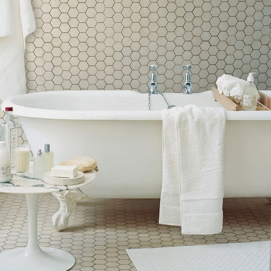 WINC MOSAIC HEXAGON WHITE 5X5 - SQM