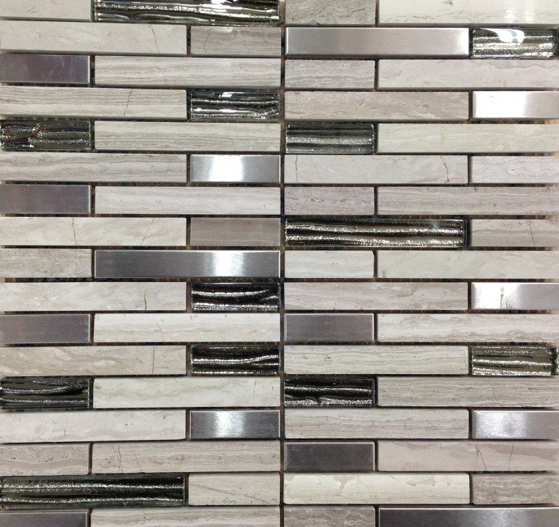 COLOURGLASS LIFESTONE STRIP 30X30 - EACH