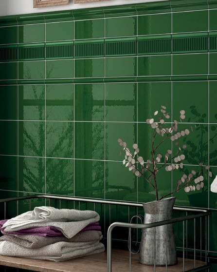 Pencil Torello Victorian Green 2x15 Ea Wall Tiles Our Products