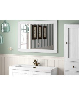 MIRROR BOHEME WHITE VINT 70X90 - EACH