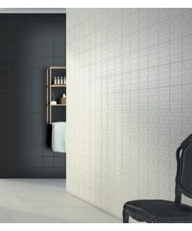 TRIPLEX PLAIN BLACK 20X20 - SQM