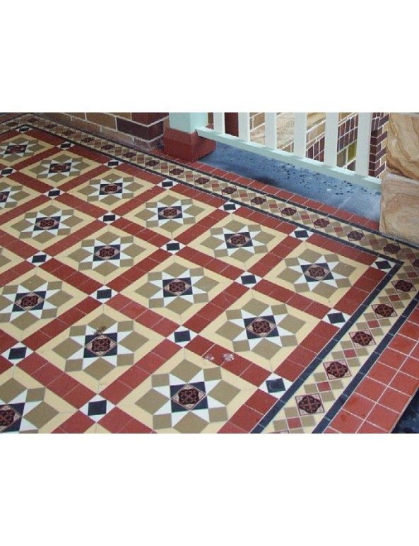 Winc Bristol Pattern Sqm Floor Tiles Tiles Our Products